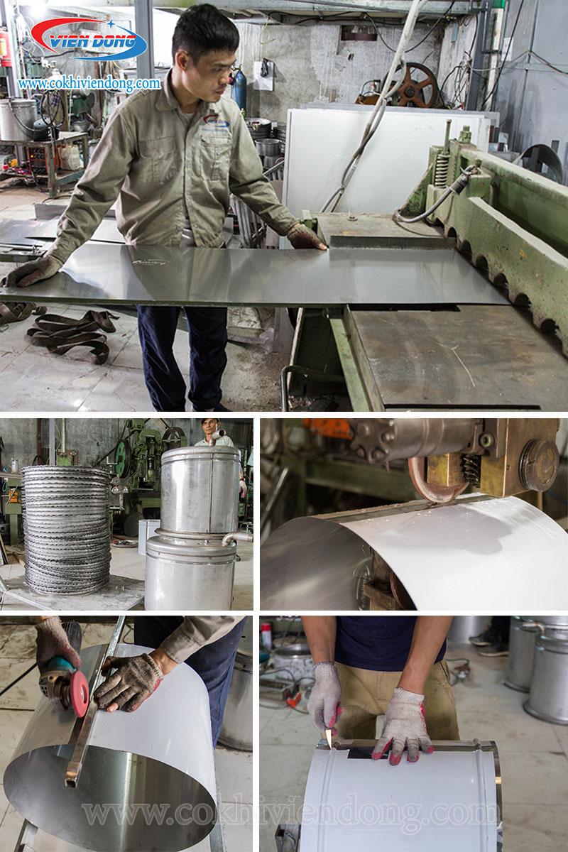 Xưởng sản xuất nồi nấu phở Viễn Đông