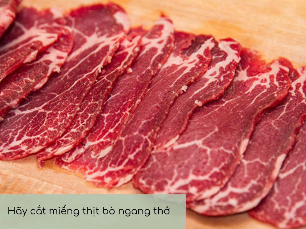 cắt thịt bò