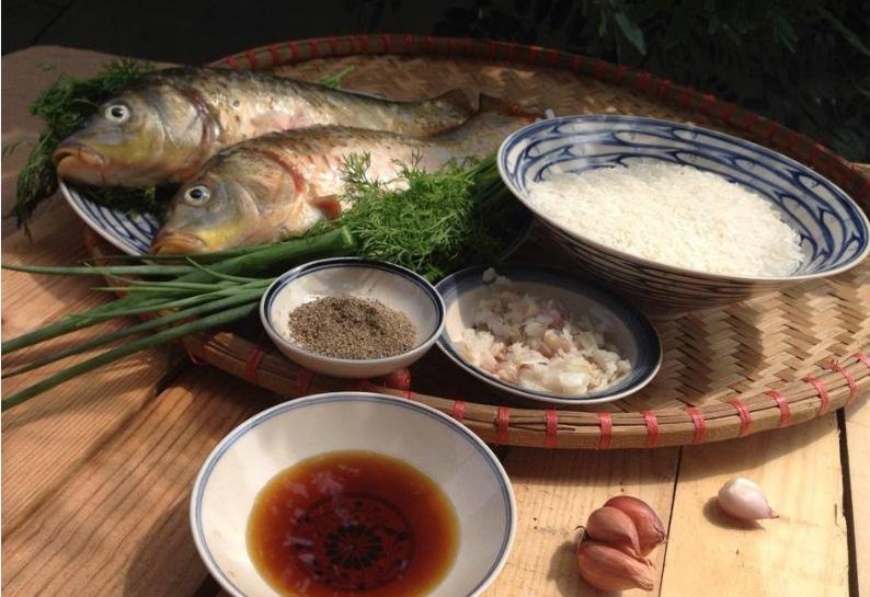 cách nấu cháo cá 4