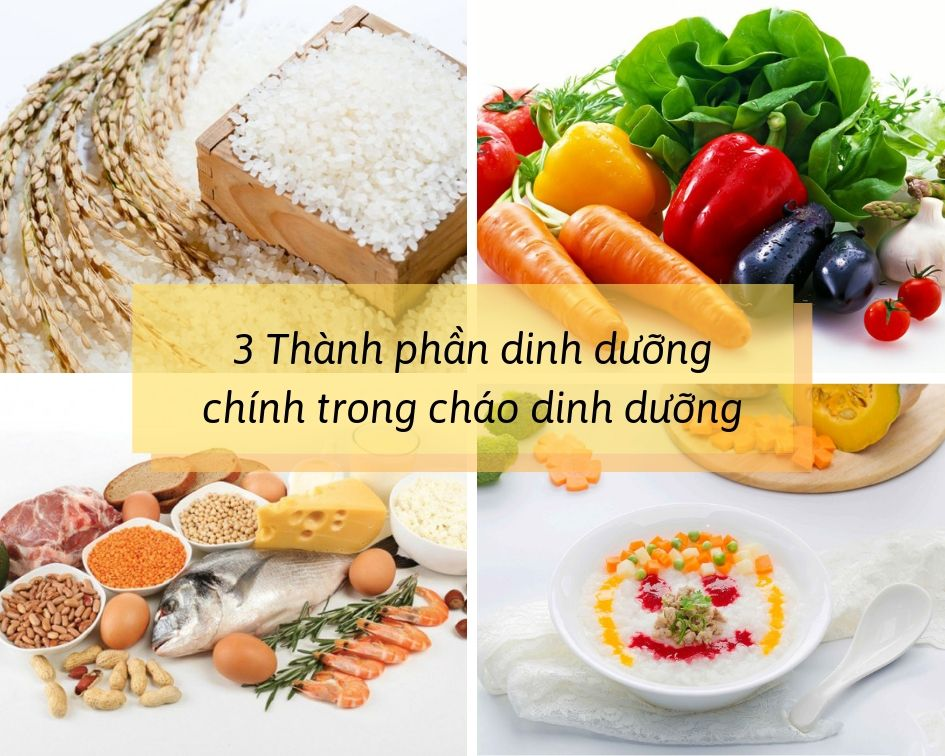 cách nấu cháo dinh dưỡng9