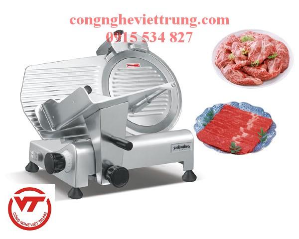 máy thái thịt đông lạnh Việt Trung