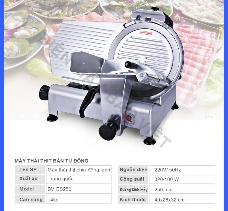 máy thái thịt Bảo Việt