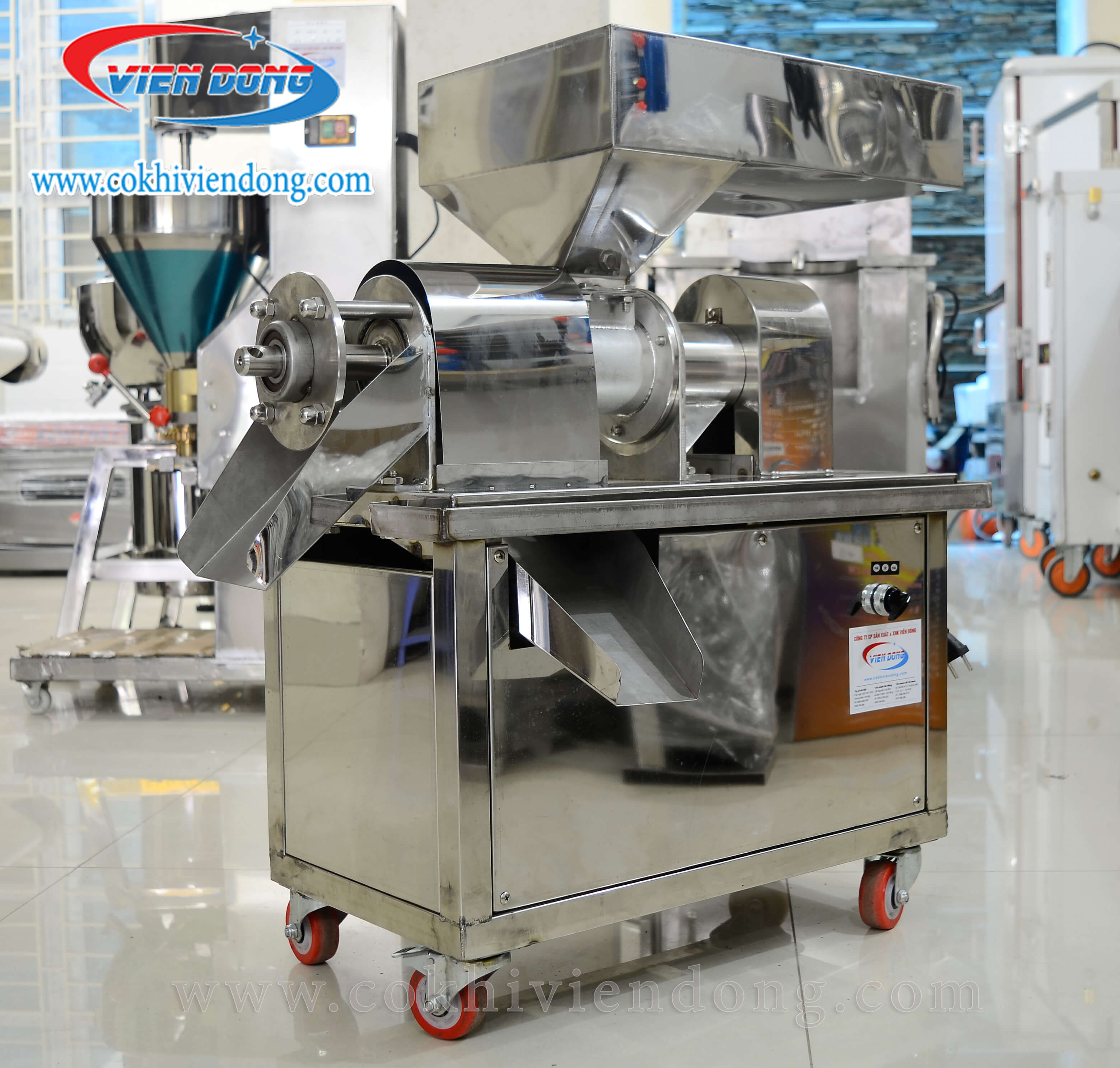 Top 4 công ty cung cấp máy ép nước cốt dừa công nghiệp