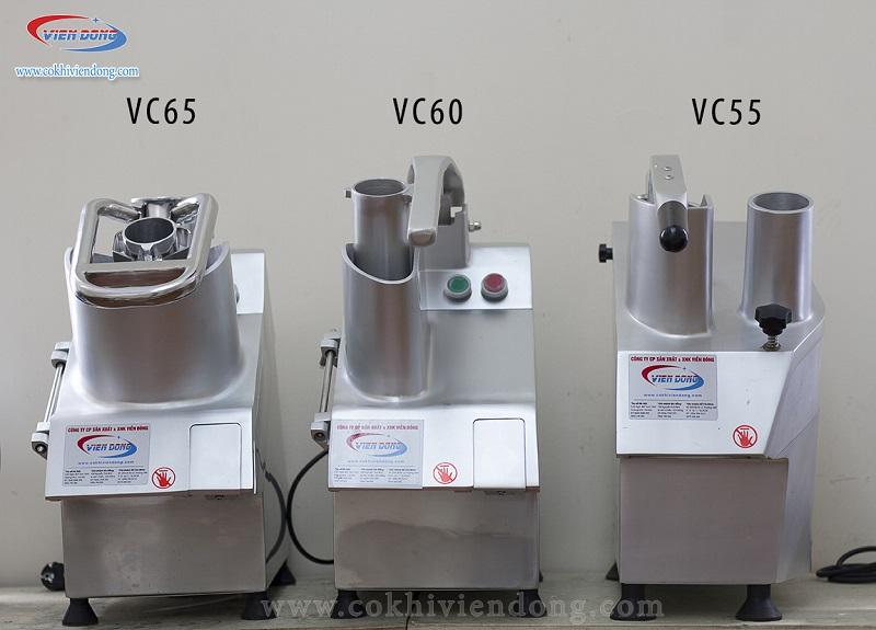 Một số series củ dòng máy cắt rau củ VC