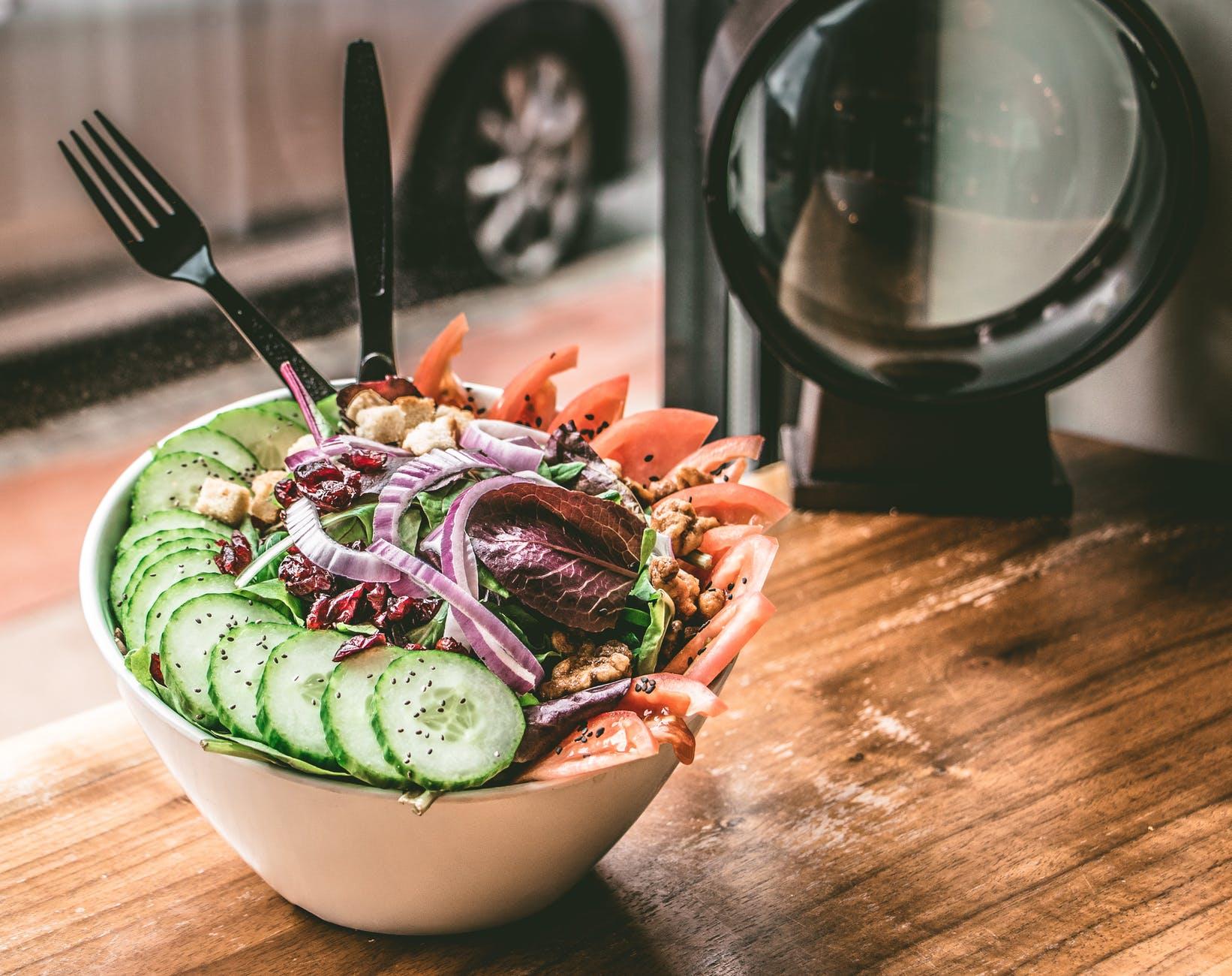 các món salad trộn rau củ