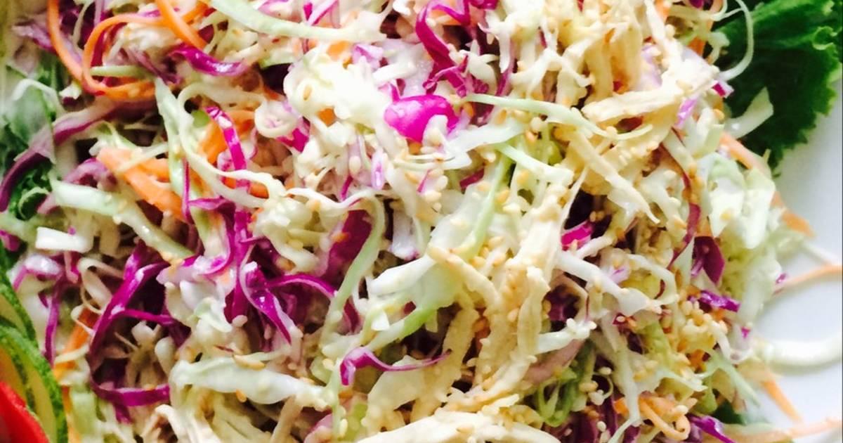 cách làm salad củ quả1
