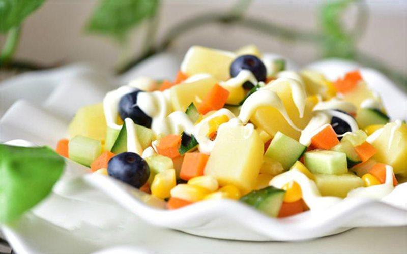 cách làm salad củ quả2