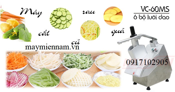 Top 4 công ty cung cấp máy cắt rau củ hàng đầu Việt Nam