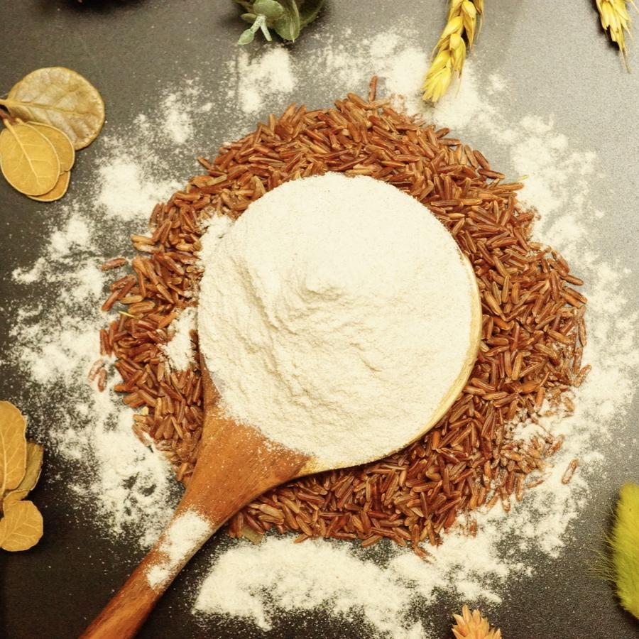 bột gạo làm bánh gì