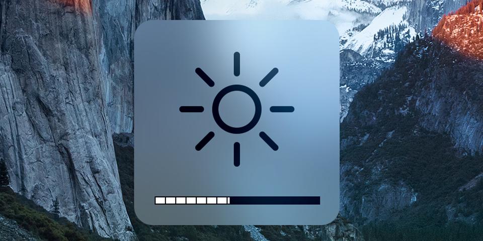 giảm độ sáng màn hình