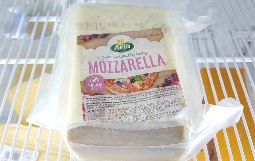 các món ăn với phô mai mozzarella