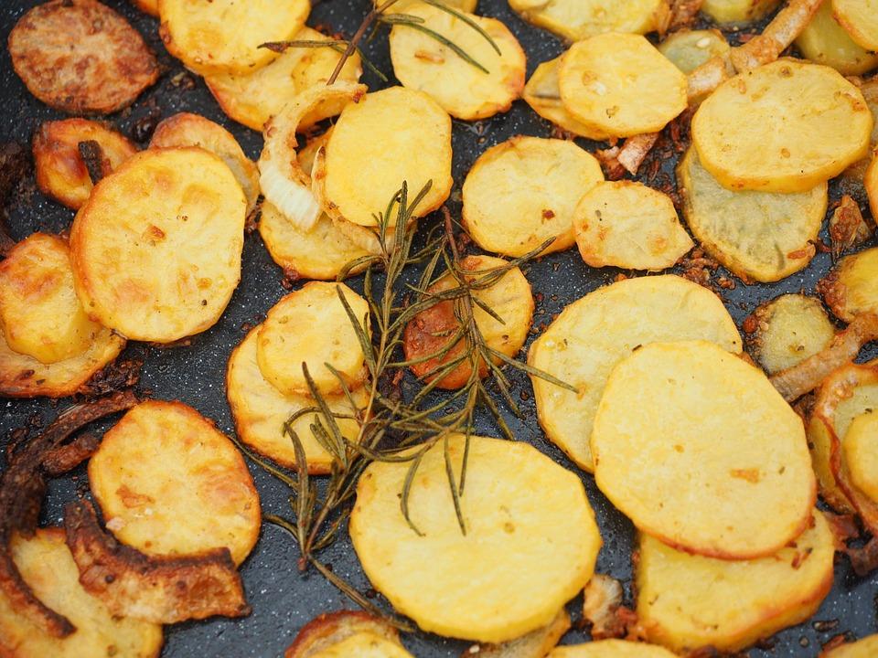 cách rán khoai tây giòn