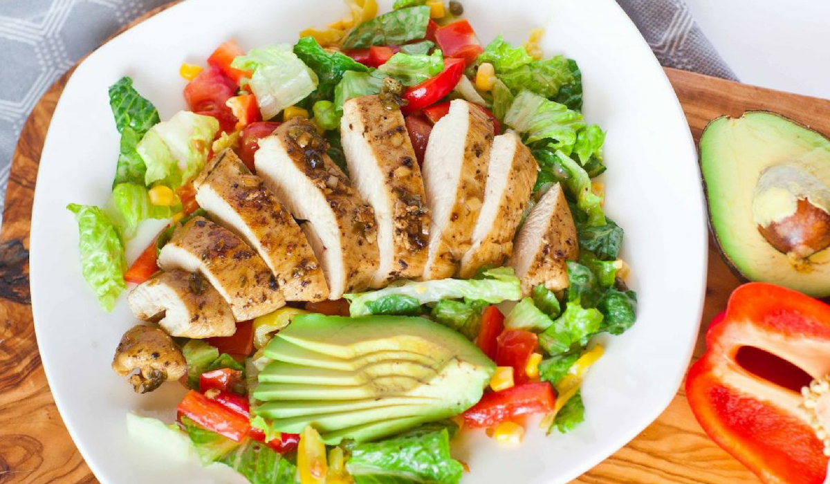 salad ức gà giảm cân2