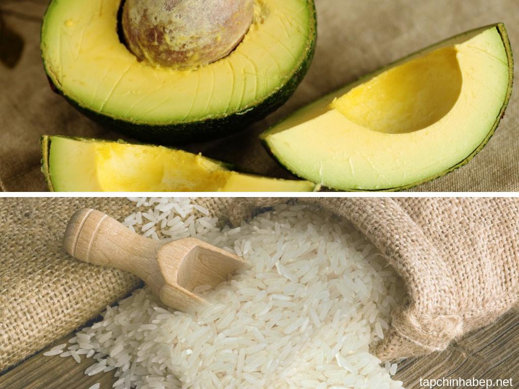 Cách làm cho bơ nhanh chín bằng cách bỏ vào thùng gạo