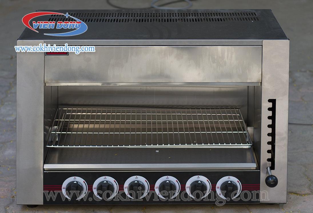 lò nướng dùng cả gas và điện