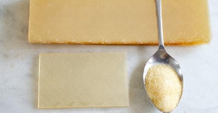 Bột gelatin có phải là bột rau câu không