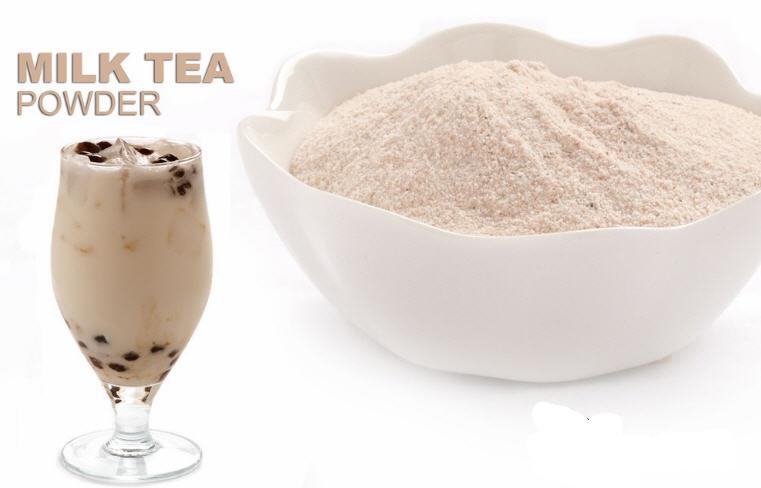 Cách pha trà sữa bằng bột béo