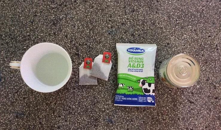cách pha trà sữa để bán