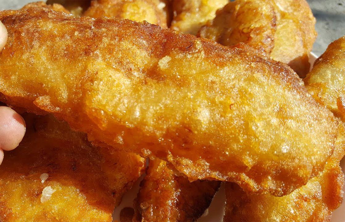 Bánh chuối chiên thơm ngon
