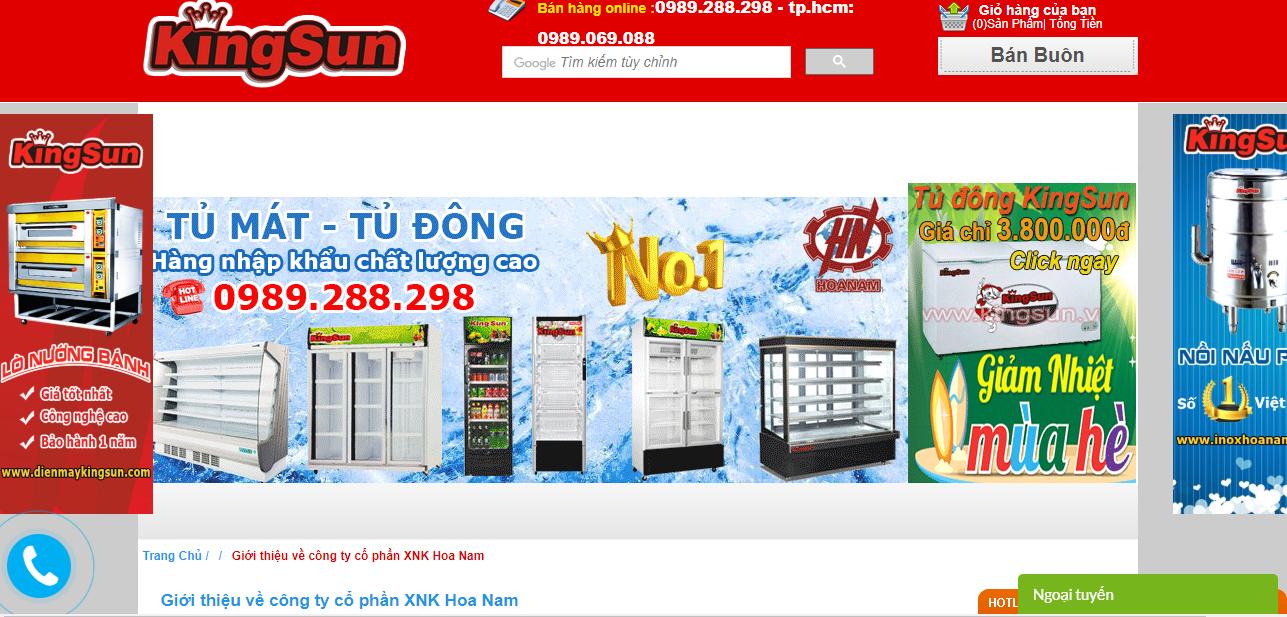 Công ty cổ phần XNK Hoa Nam