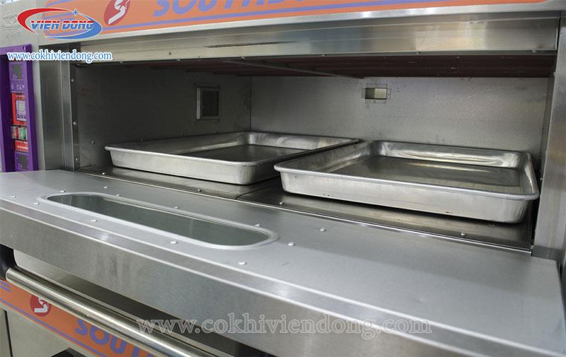Lò nướng bánh 3 tầng 6 khay dùng điện