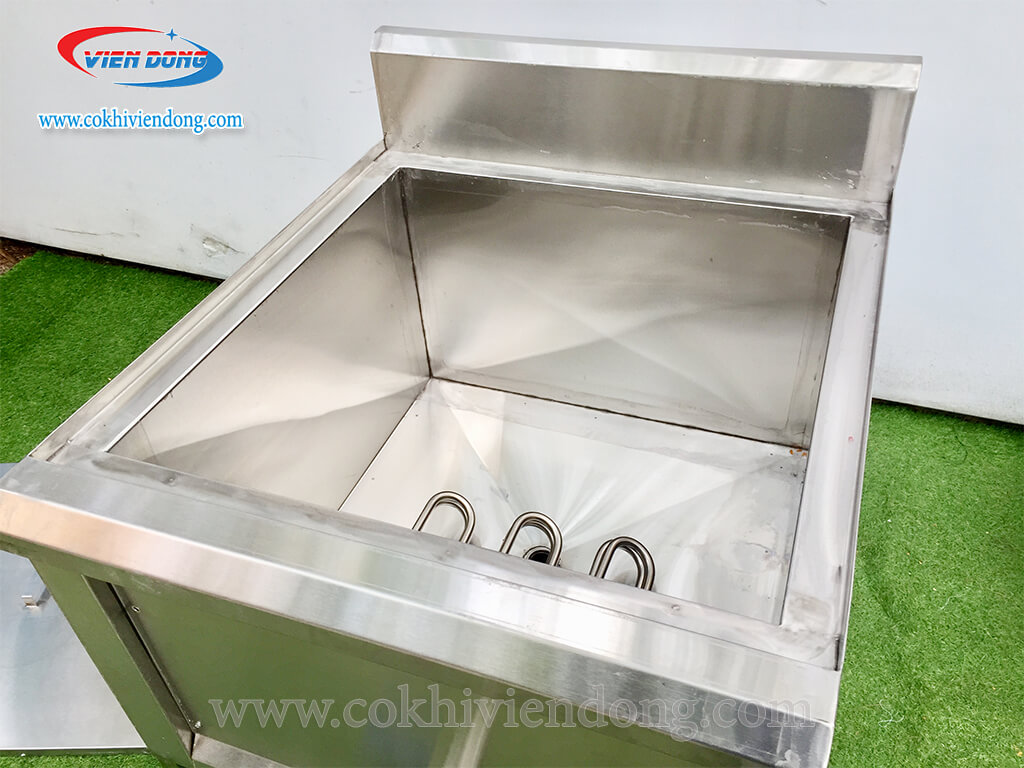 bếp chiên nhúng công nghiệp 40L