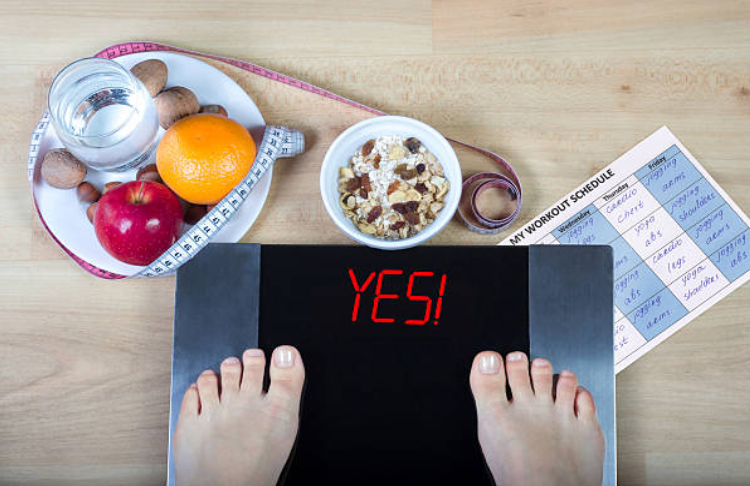 tính calo giảm cân