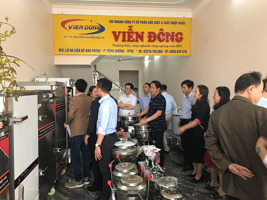 Viễn Đông - Đơn vị cung cấp nồi nấu phở điện chất lượng