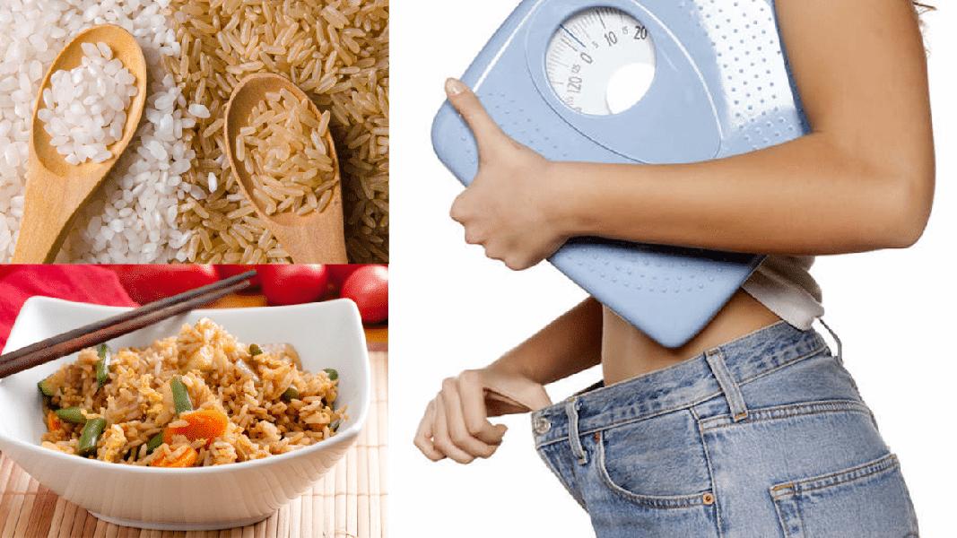 Ăn gạo lứt rang có giảm cân không