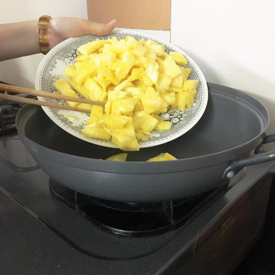 cách nấu lẩu kim chi chay
