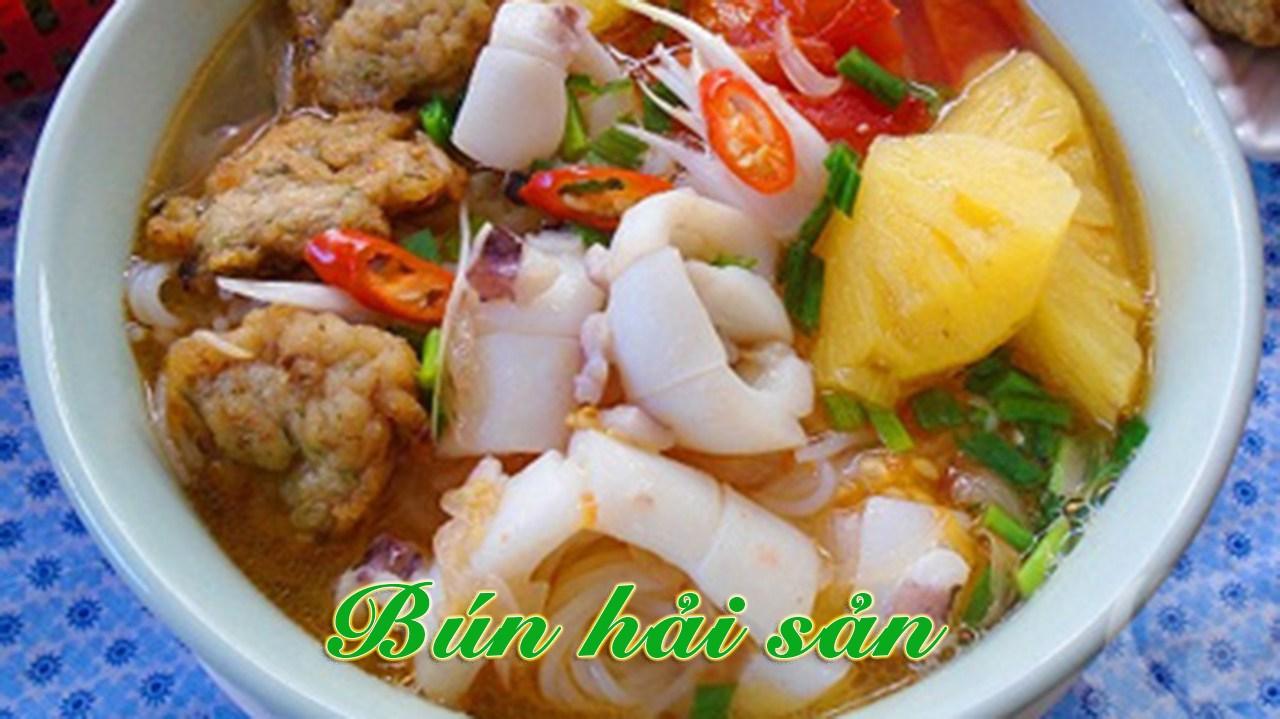 cách nấu bún thái hải sản