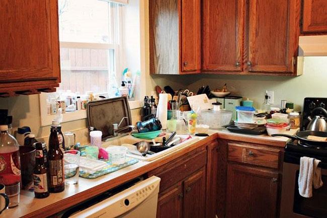 Dọn bếp ngày tết