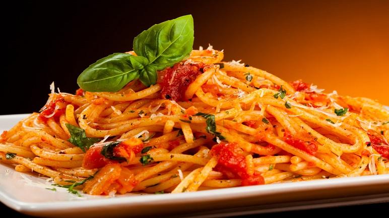 mỳ ý sốt hàu cà chua