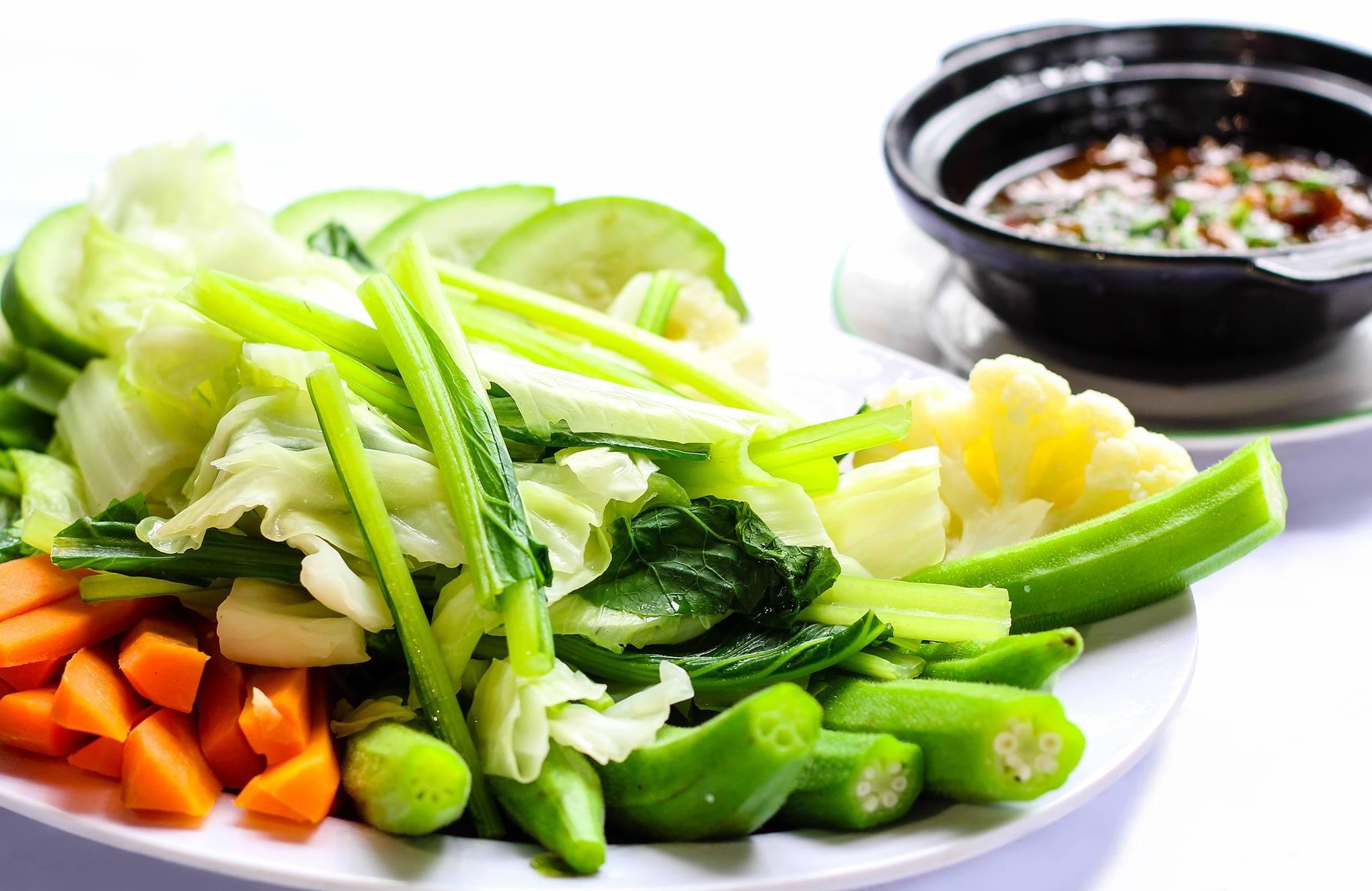 rau củ quả chay - cách nấu các món chay thông thường