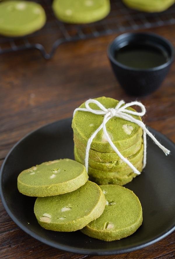 cách làm bánh cookie trà xanh
