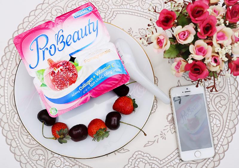 Sữa chua vinamilk Probeauty