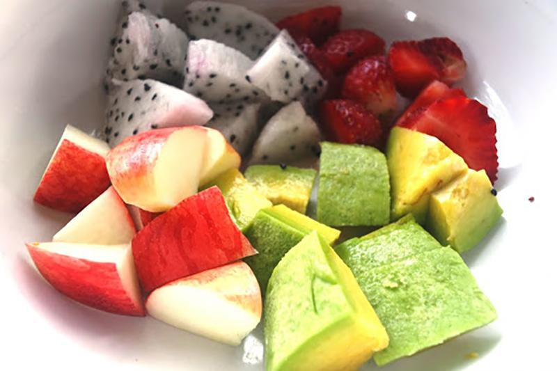 Chuẩn bị hoa quả để chế biến