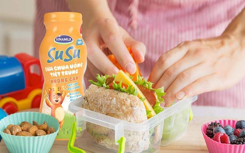 Sữa chua susu dành cho bé dưới 1 tuổi
