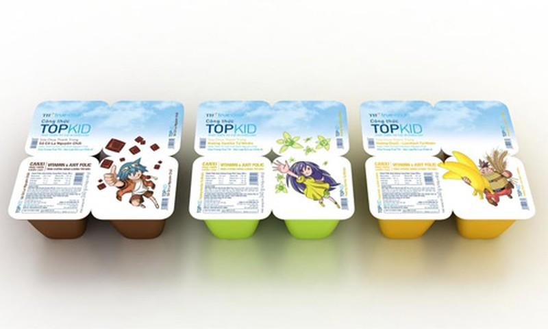 Sữa chua topkids cho bé từ 24 tháng tuổi