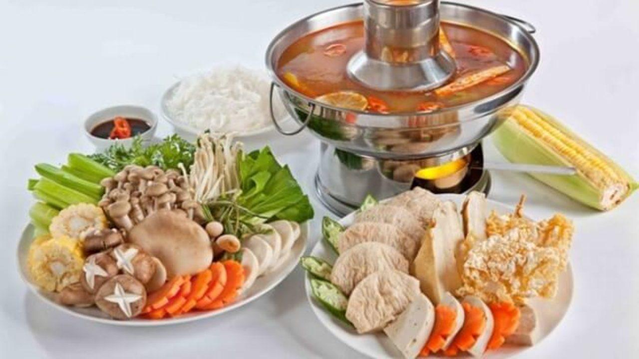 cách nấu lẩu chay chua ngọt