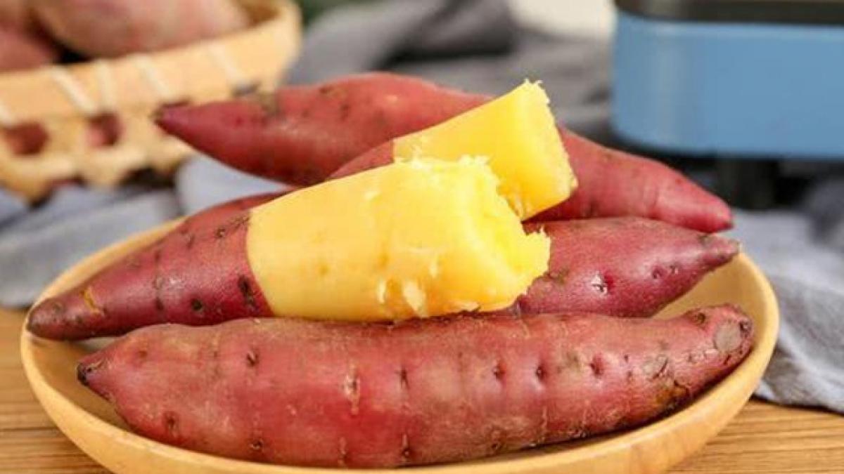 món ăn giảm cân từ khoai lang