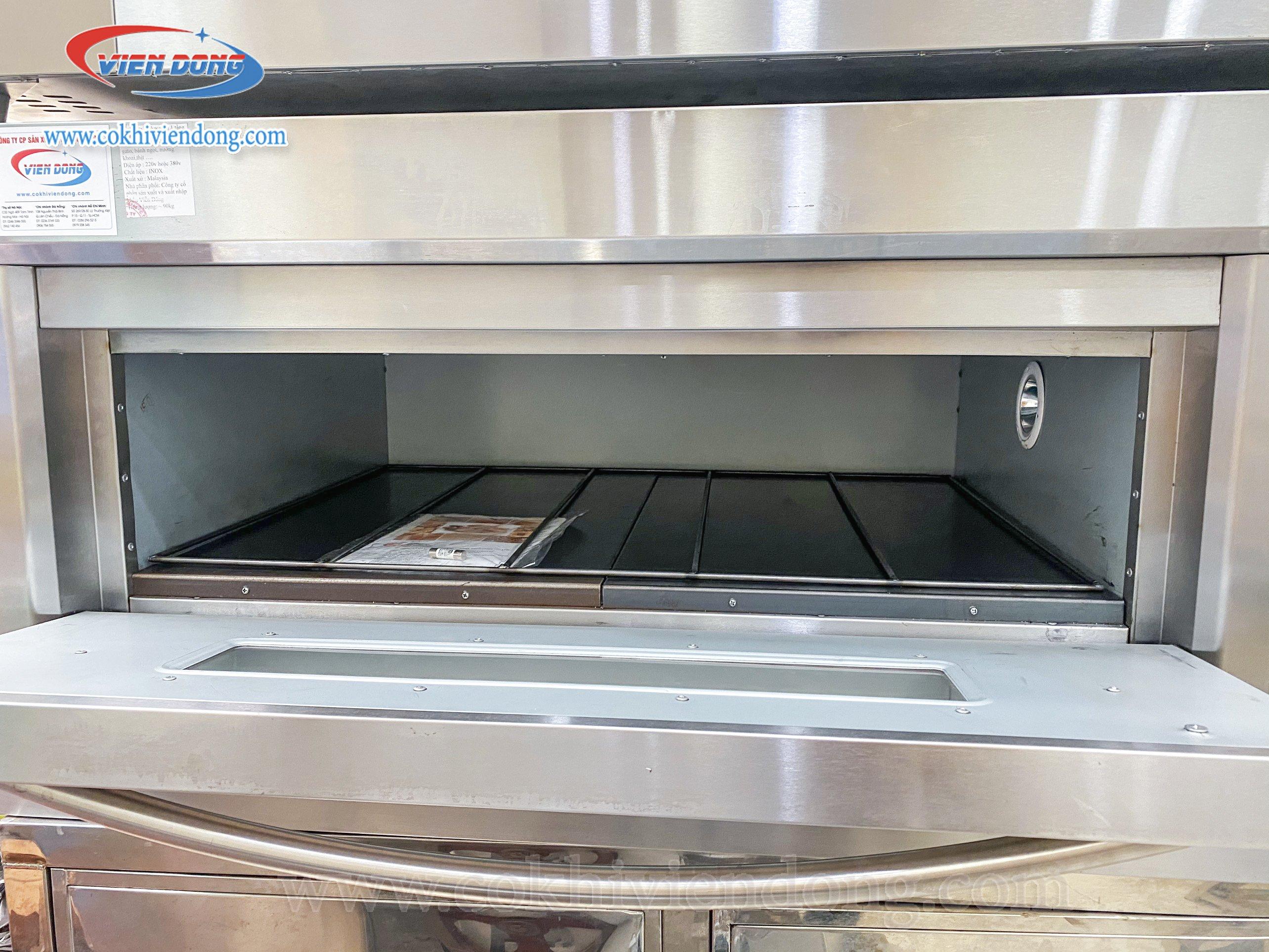 Lò nướng bánh công nghiệp 2021