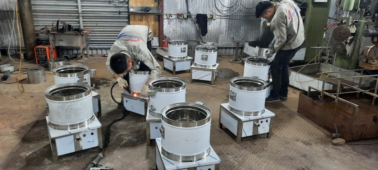 Xưởng sản xuất nồi nấu phở điện